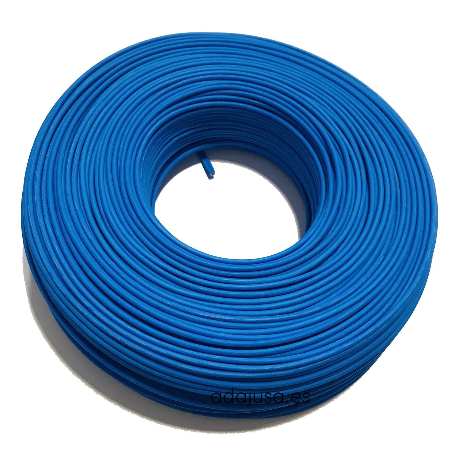Flexible cable 4 mm2 unipolar blue color